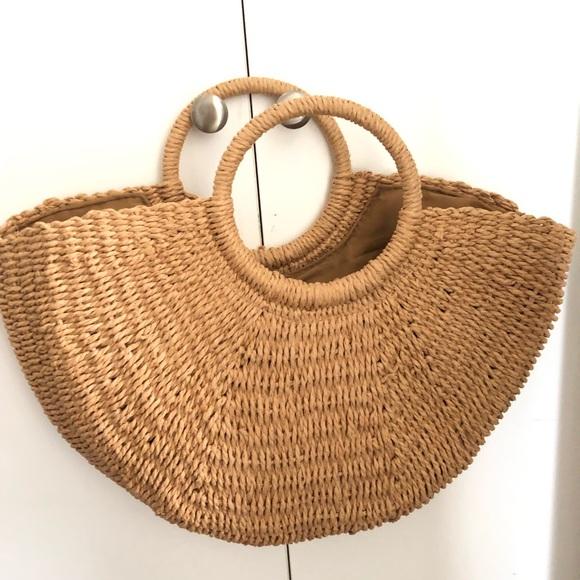 Handbags - Rattan bag
